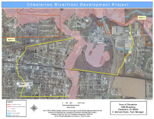 Riverfront Development map