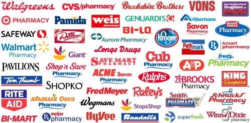Participating Pharmacies logos