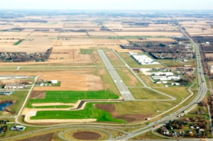 Airport Land View